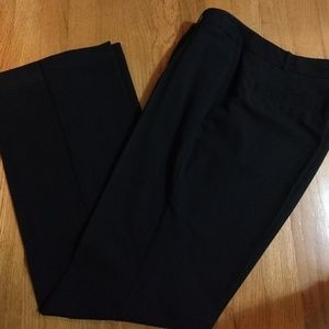 Curvy Fit Black Trousers